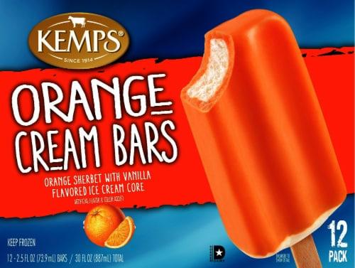Kemps Orange Cream Bars Perspective: front