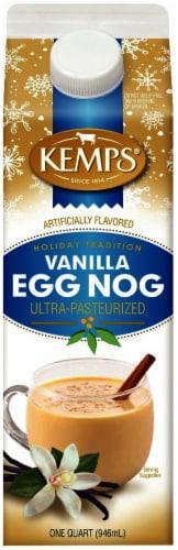 Kemps Vanilla Egg Nog Perspective: front