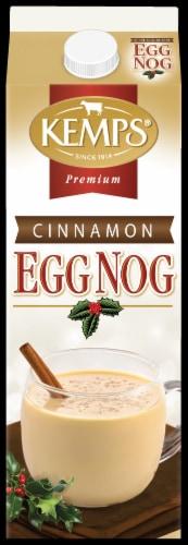 Kemps Cinnamon Egg Nog Perspective: front