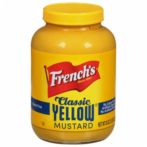 French's Classic Yellow Mustard Perspective: front