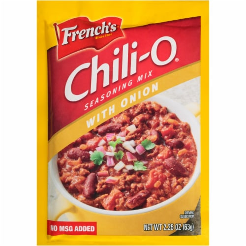 French's Chili-O Onion Seasoning Mix Perspective: front