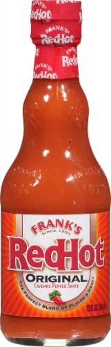 Frank's RedHot Original Cayenne Pepper Hot Sauce Perspective: front