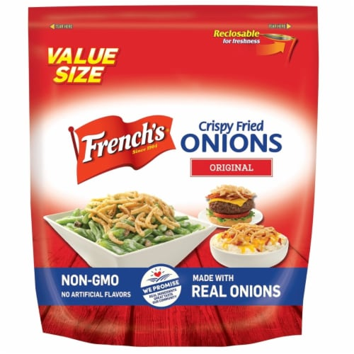French's French Fried Onions (26.5 Ounce bag) Perspective: front