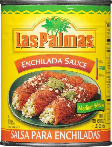 Las Palmas Medium Enchilada Sauce Perspective: front