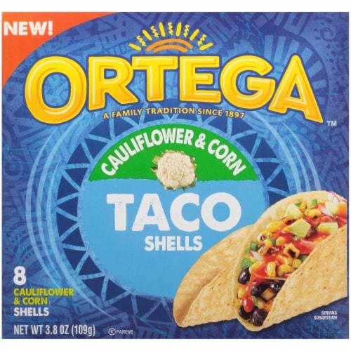 Ortega Cauliflower & Corn Taco Shells Perspective: front