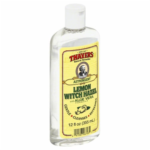 Thayers Lemon Witch Hazel Perspective: front