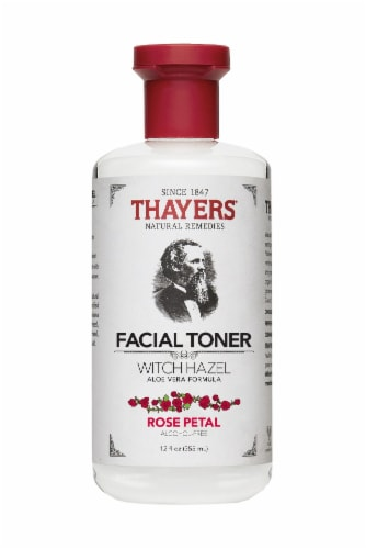 Thayers Rose Petal Witch Hazel Facial Toner Perspective: front