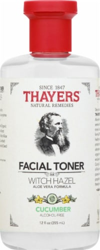 Thayers Cucumber Witch Hazel Facial Toner Perspective: front