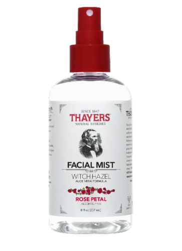Thayers Rose Petal and Witch Hazel Facial Mist Perspective: front