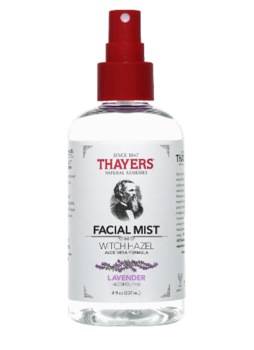 Thayers Lavender Witch Hazel Facial Mist Perspective: front