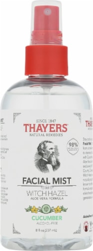 Thayers Aloe Vera & Cucumber Witch Hazel Facial Mist Perspective: front