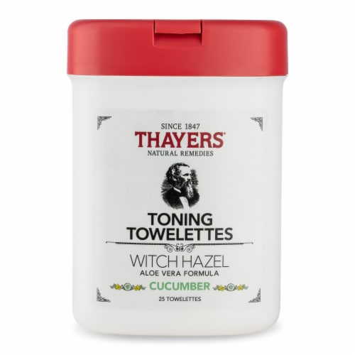 Thayers Cucumber Toning Towelettes Perspective: front