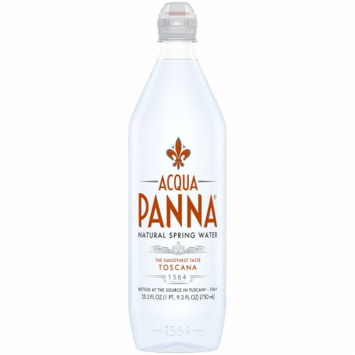 Acqua Panna Natural Spring Water Perspective: front