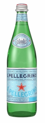 San Pellegrino Sparkling Natural Mineral Water Perspective: front