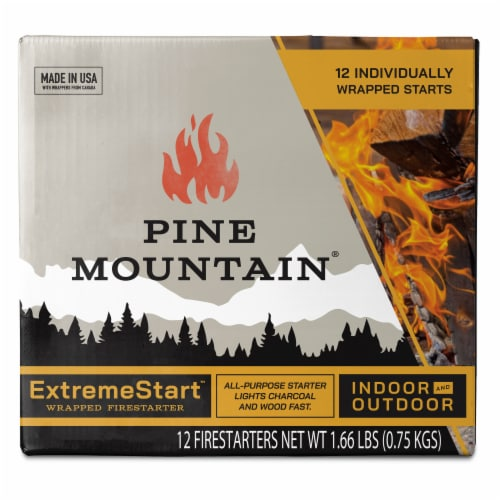 Pine Mountain ExtremeStart Firestarters Perspective: front