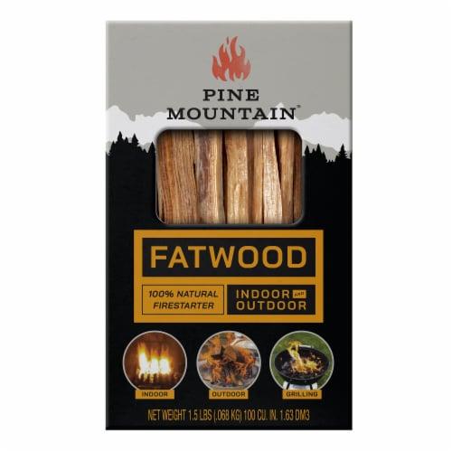 Pine Mountain Fatwood StarterStikk Firestarter Perspective: front