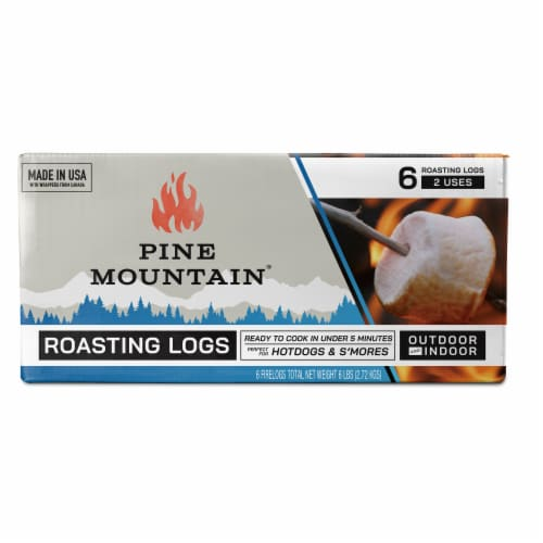 Pine Mountain Roasting Log Perspective: front