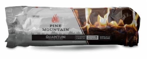 Pine Mountain Quantum Premium Firelog Perspective: front