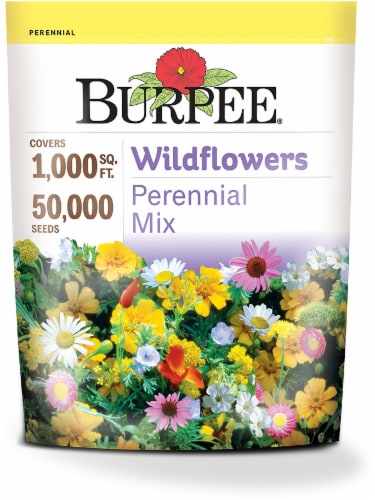 Burpee Wildflowers Perennial Mix Seeds Perspective: front