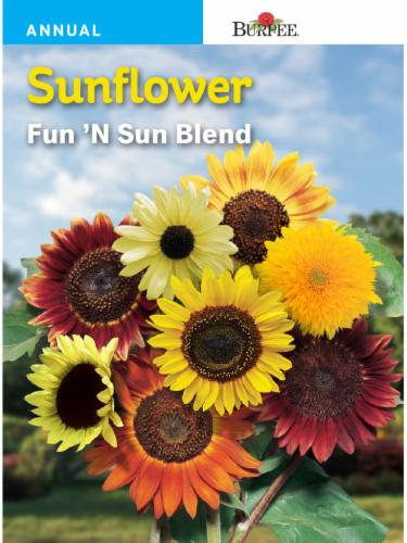 Burpee Fun 'N Sun Sunflower Blend Seeds Perspective: front