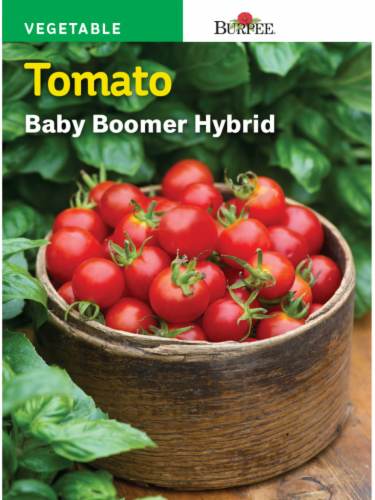 Burpee Baby Boomer Hybrid Tomato Seeds - Red Perspective: front