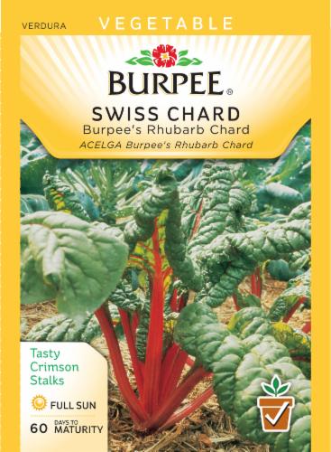 Burpee Burpee Rhubarb Swiss Chard Seeds Perspective: front