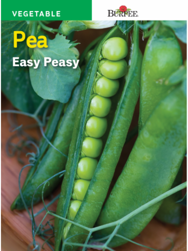 Burpee Easy Peasy Pea Seeds Perspective: front
