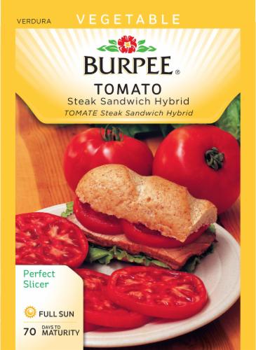 Burpee Steak Sandwich Hybrid Tomato Seeds Perspective: front