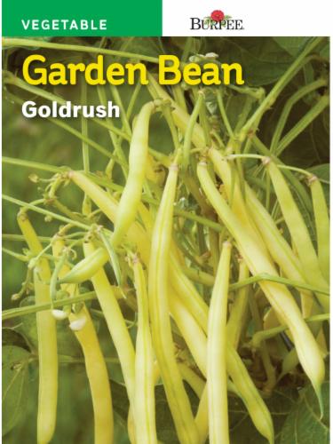 Burpee Garden Bean Goldrush Perspective: front