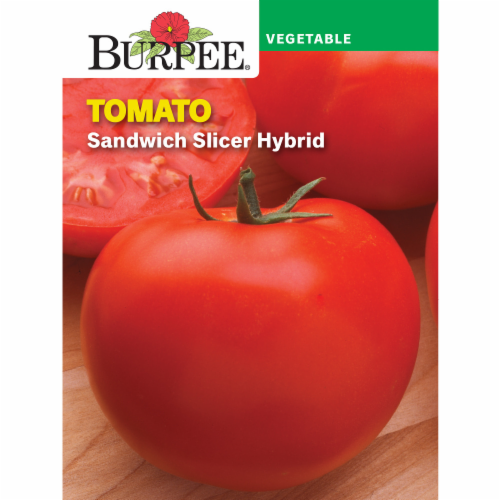 Burpee Sandwich Slicer Hybrid Tomato Seeds Perspective: front