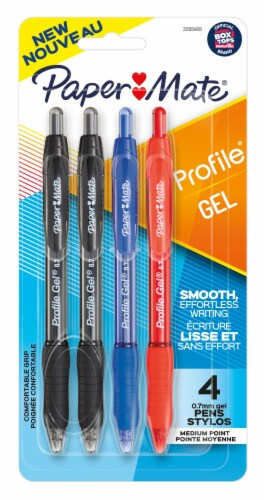 Paper Mate® Profile 0.7mm Assorted Gel Pens Perspective: front