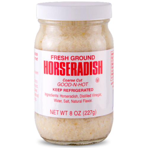 Silver Spring Fresh Ground Horseradish Sauce Perspective: front