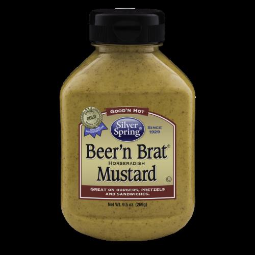 Silver Spring Beer'n Brat Horseradish Mustard Perspective: front