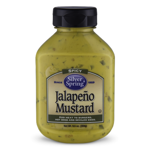 Silver Spring Spicy Jalapeno Mustard Perspective: front