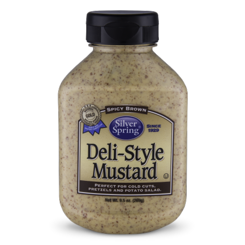 Silver Spring Spicy Brown Deli-Style Mustard Perspective: front