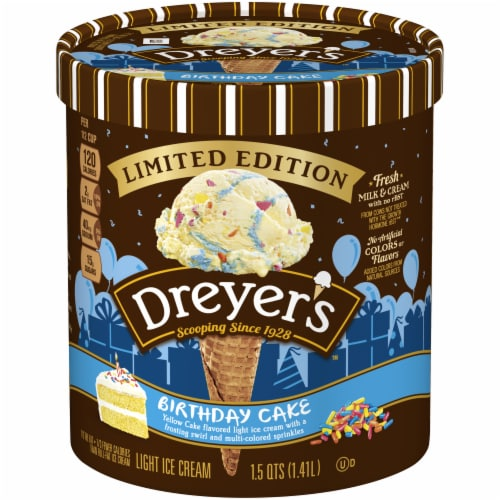 Dreyer's Limited Edition Ice Cream Perspective: front