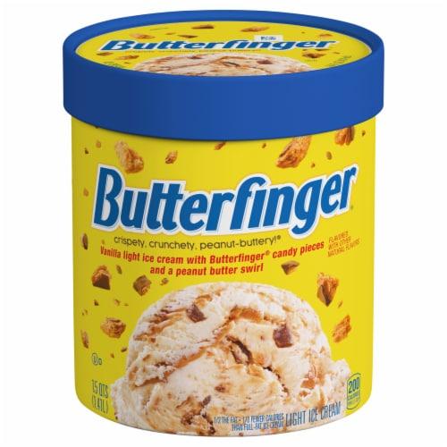 Nestle Butterfnger Light  Ice Cream Perspective: front