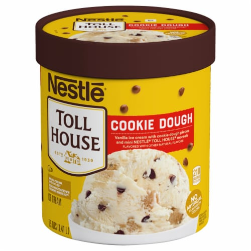 Dreyer's/Edy's Nestle Toll House Cookie Dough Ice Cream Perspective: front