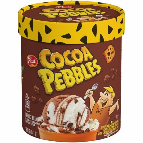 Cocoa Pebbles Ice Cream Perspective: front