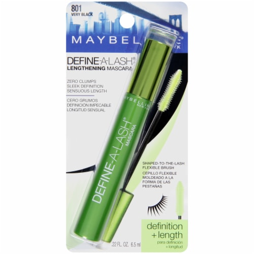 Maybelline Define-A-Lash Very Black Mascara Perspective: front