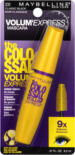Maybelline Volum'Express The Colossal Classic 231 Black Mascara Perspective: front