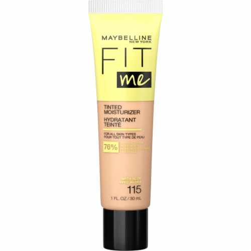 Maybelline Fit Me 115 Tinted Moisturizer Perspective: front