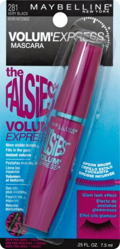 Maybelline The Falsies Washable Very Black Mascara Perspective: front
