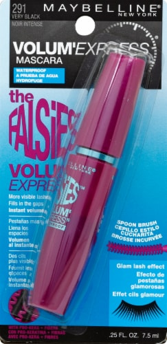 Maybelline New York Falsies 291 Very Black Mascara Perspective: front