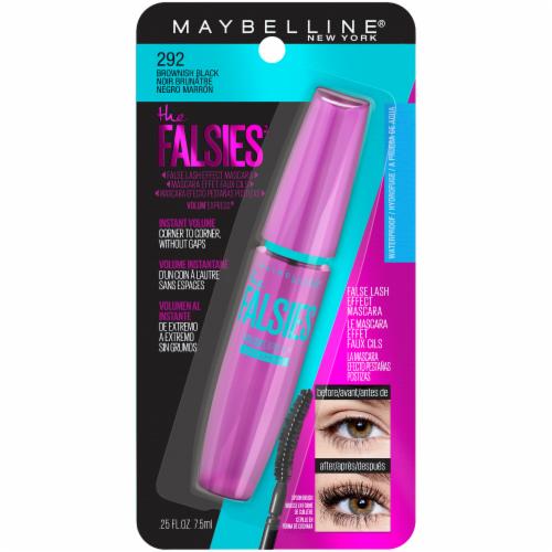 Maybelline Falsies Brownish Black Mascara Perspective: front
