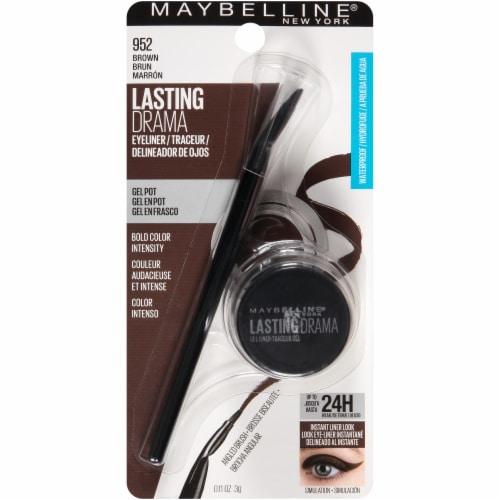 Maybelline Eyestudio 952 Lasting Drama Brown Gel Eyeliner Perspective: front