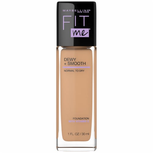 Maybelline Fit Me Dewy + Smooth Medium Buff Foundation Perspective: front