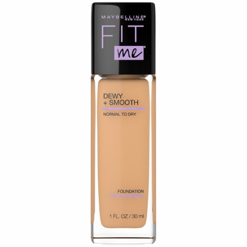 Maybelline Fit Me Dewy + Smooth Sun Beige Foundation Perspective: front
