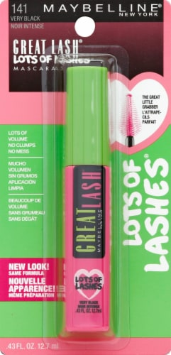 Maybelline Great Lash Lots of Lashes 141 Very Black Mascara Perspective: front