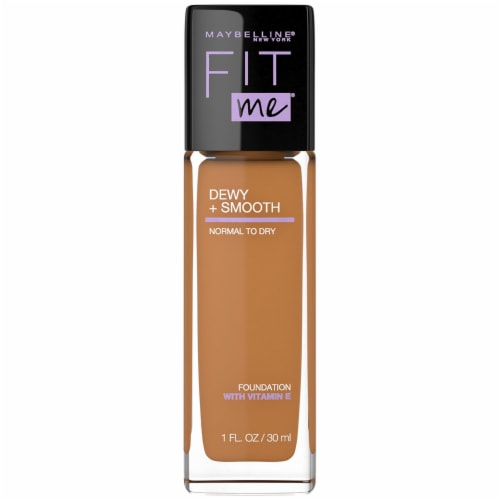Maybelline Fit Me Dewy + Smooth Coconut Foundation Perspective: front